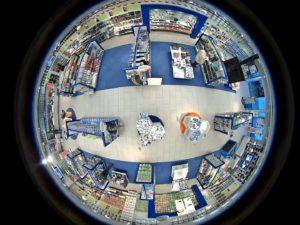 telecamera negozio