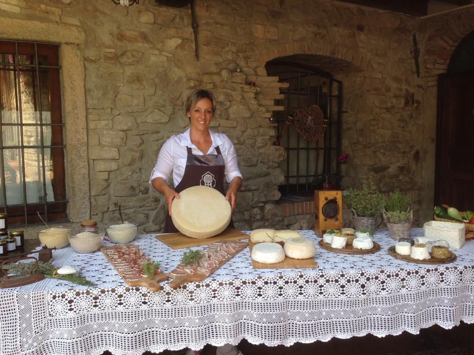 Chiara Cazzaniga - Cascina Ombria - formaggi di capra