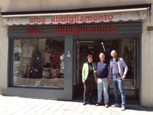 alba abbigliamento- via Borgo Palazzo Bergamo