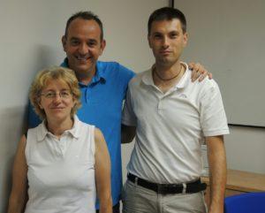 Da sinistra: Claudia Campana, Diego Suardi e Marzio Moretti