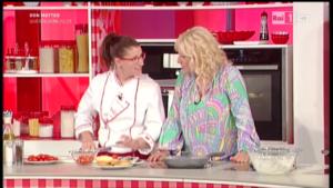 con Antonella Clerici alla Prova del Cuoco