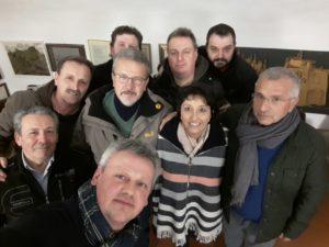 Il nuovo Consiglio del Coro Idica con la presidente Simona Visinoni.jpg