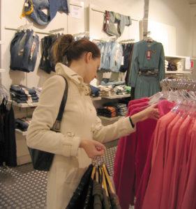 negozio - shopping - abbigliamento
