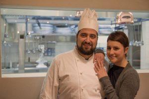 Cristian Fagone e Francesca Mauri