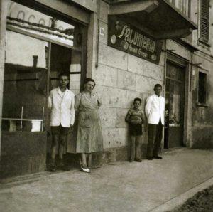 salumeria Rossetti - caravaggio - foto storica