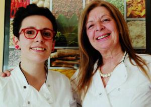Emilia Persico e la figlia Elena