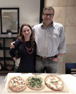 Enio Panzeri e la moglie Cristina