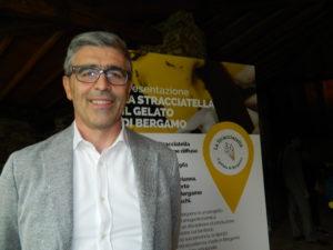 Il presidente dei Gelatieri Bergamaschi, Massimo Bosio