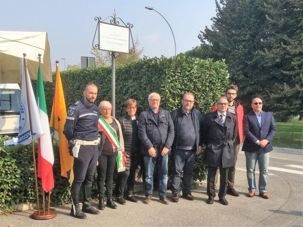 Foto commemorazione Vanoncini - rit