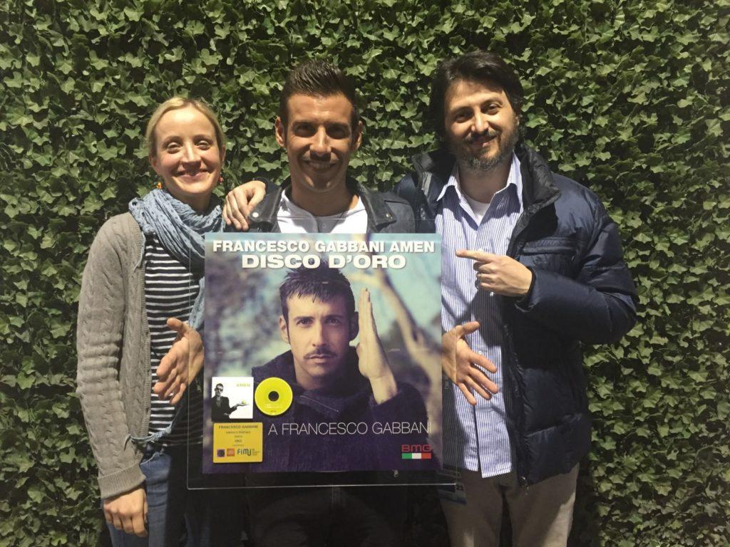 Marion Pessina con Francesco Gabbani ed Andrea Vittori 2