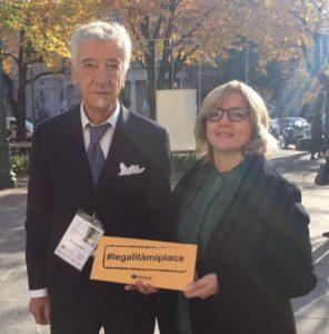 Diego Pedrali e Laura Natali