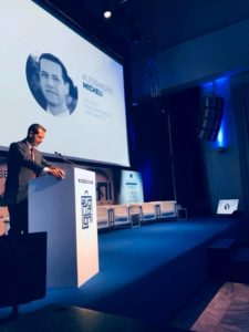 Il presidente dei Giovani Confcommercio, Alessandro Micheli