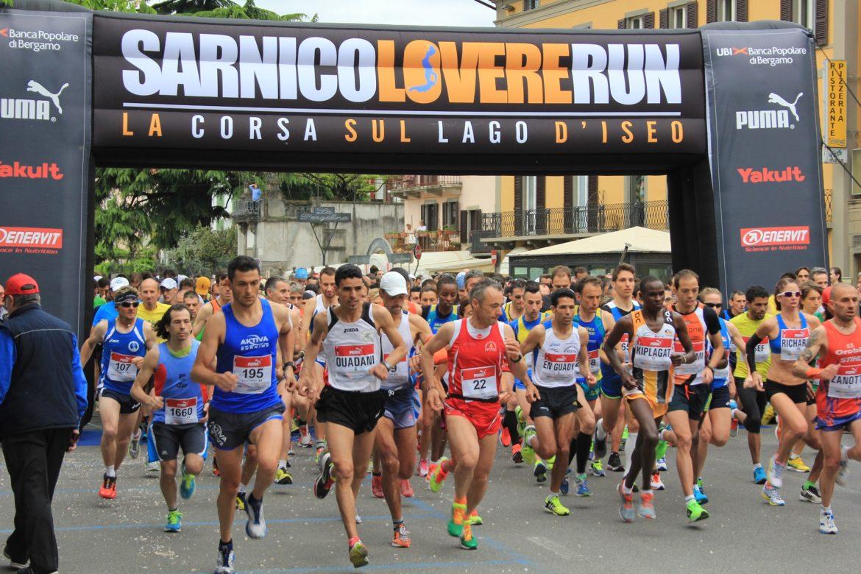 Record di iscritti alla Sarnico Lovere Run. Negli alberghi c'è il tutto esaurito