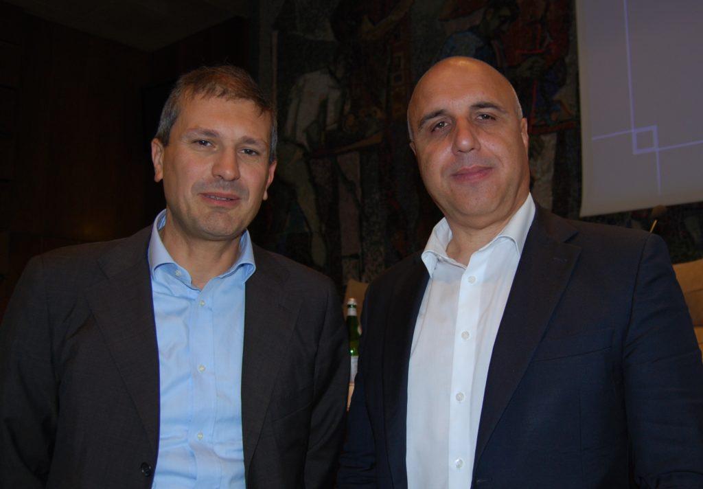 Luca Ungarelli e Sergio Sonzogni