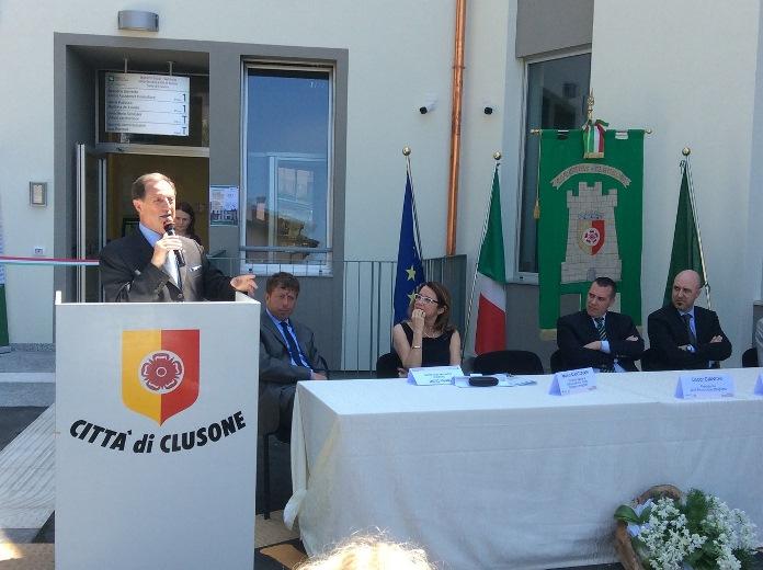 inaugurazione distretto sanitario Clusone (1)