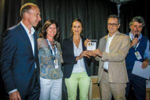 Fabio Maiorino e Tiziana Maiorino ritirano il Premio