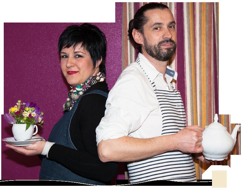 """Stezzano, le merende """"floreali"""" di Fiammetta e Roberto"""