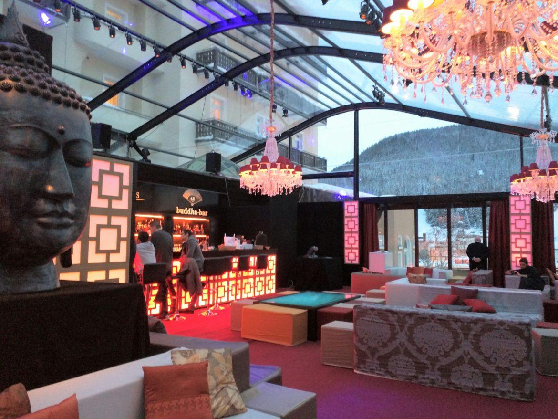 Davos, i leader dell'economia si incontrano al Buddha Bar made in Bergamo