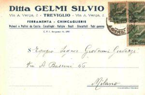Negozio Gelmi foto storica - Treviglio