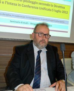 Il presidente della Fiva di Bergamo, Mauro Dolci