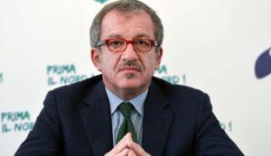 il governatore lombardo, Roberto Maroni