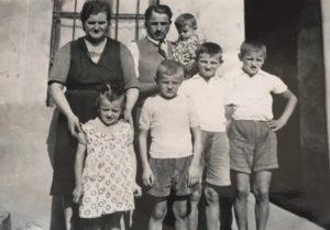 foto storica salumeria Turani - Valbrembo