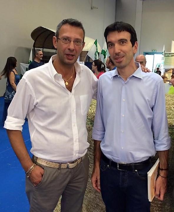 Ettore Coffetti e Maurizio Martina