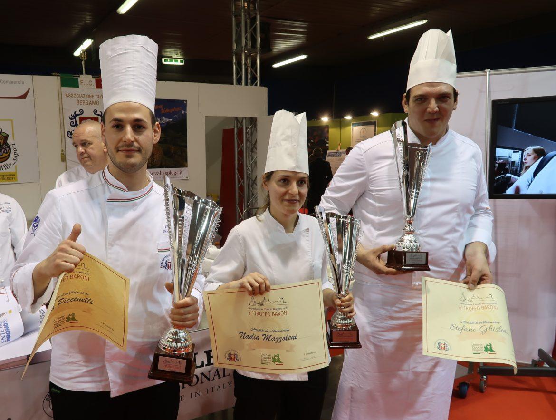 Cuochi, il Trofeo Baroni va a Clusane