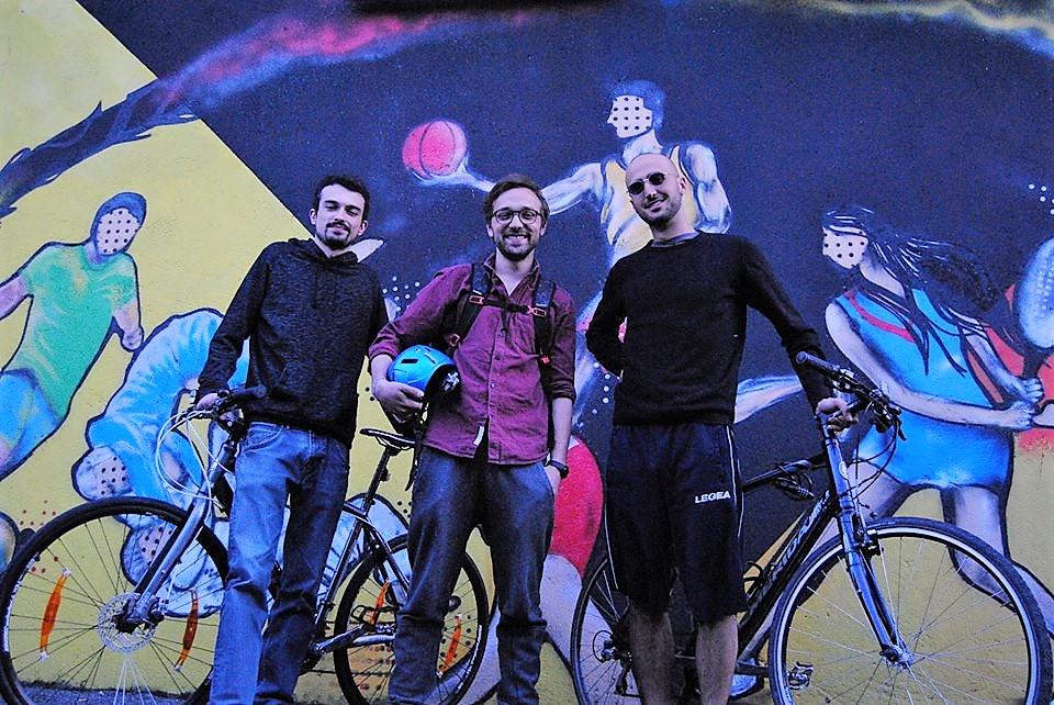 The green Wire, tre bergamaschi in bici per rilanciare il mondo bio
