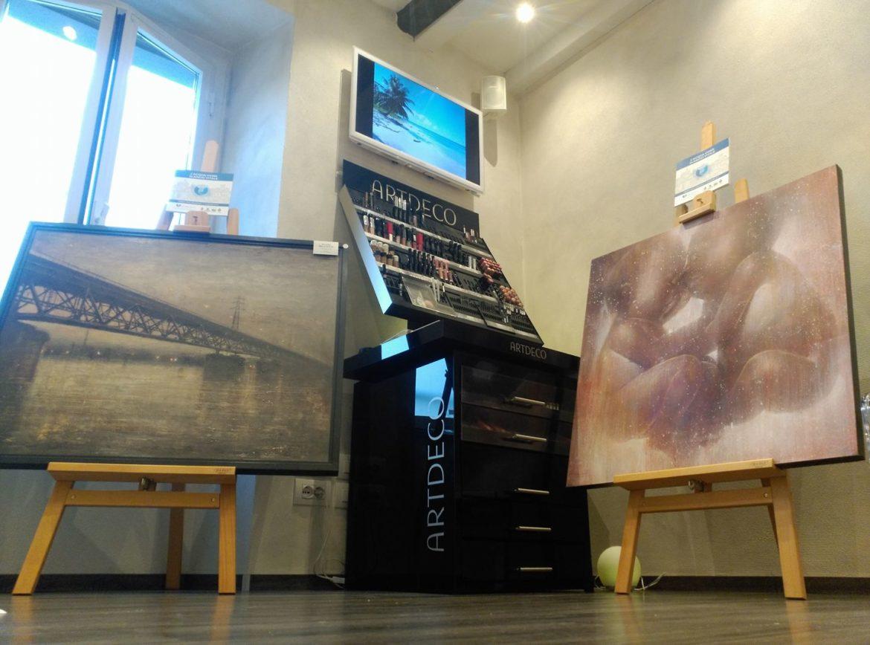 Anche a Zogno l'arte entra in negozio