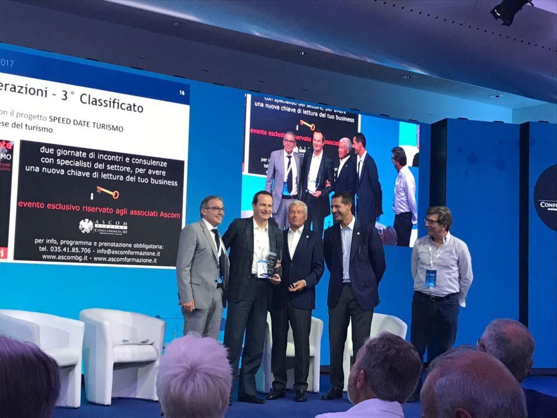 Ascom, premio nazionale per l'Innovazione con gli Speed Date del Turismo