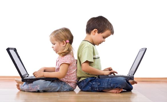 I bambini bergamaschi e internet, primo accesso a 7 anni e mezzo