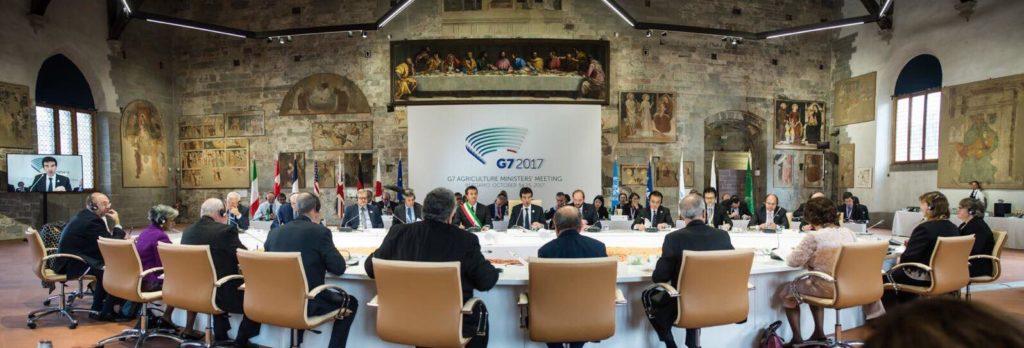 g7 agricoltura - tavolo