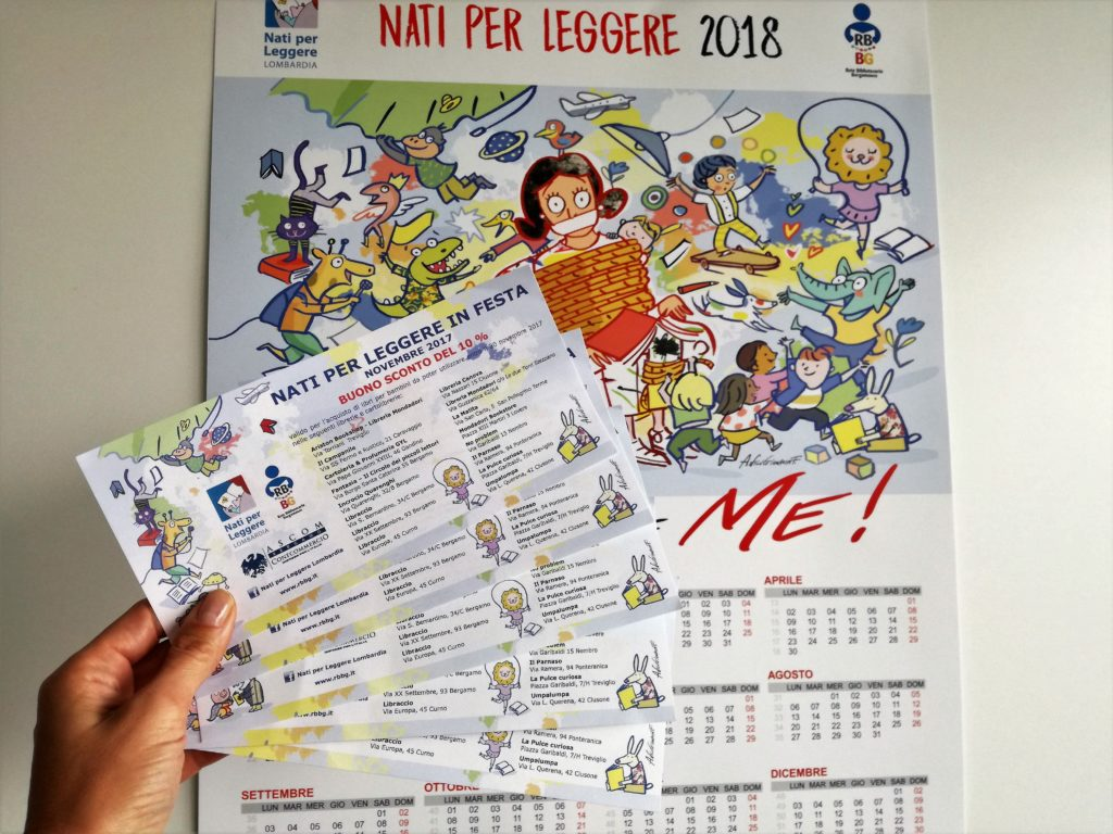 nati per leggere in festa 2017 - coupon calendario