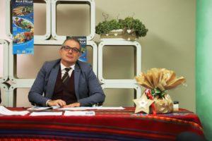Il direttore dell'Ascom, Oscar Fusini alla presentazione della campagna