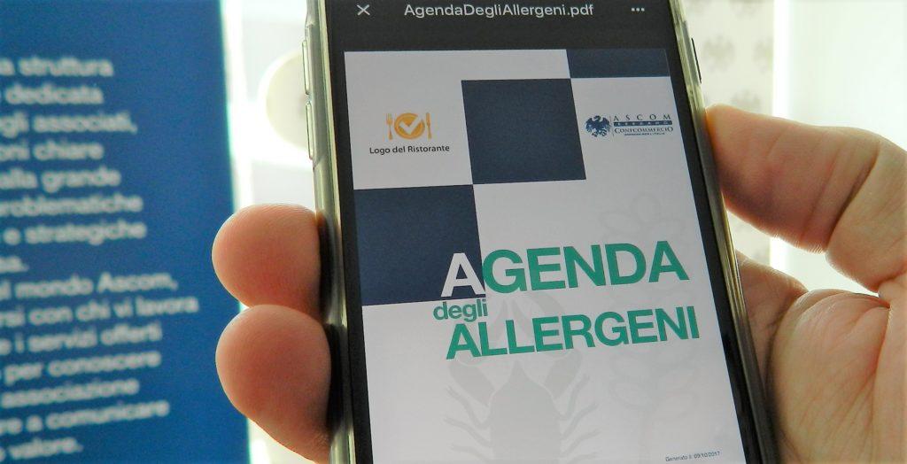 agenda degli allergeni - ascom bergamo