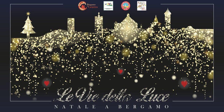 Bergamo, i commercianti accendono il Natale