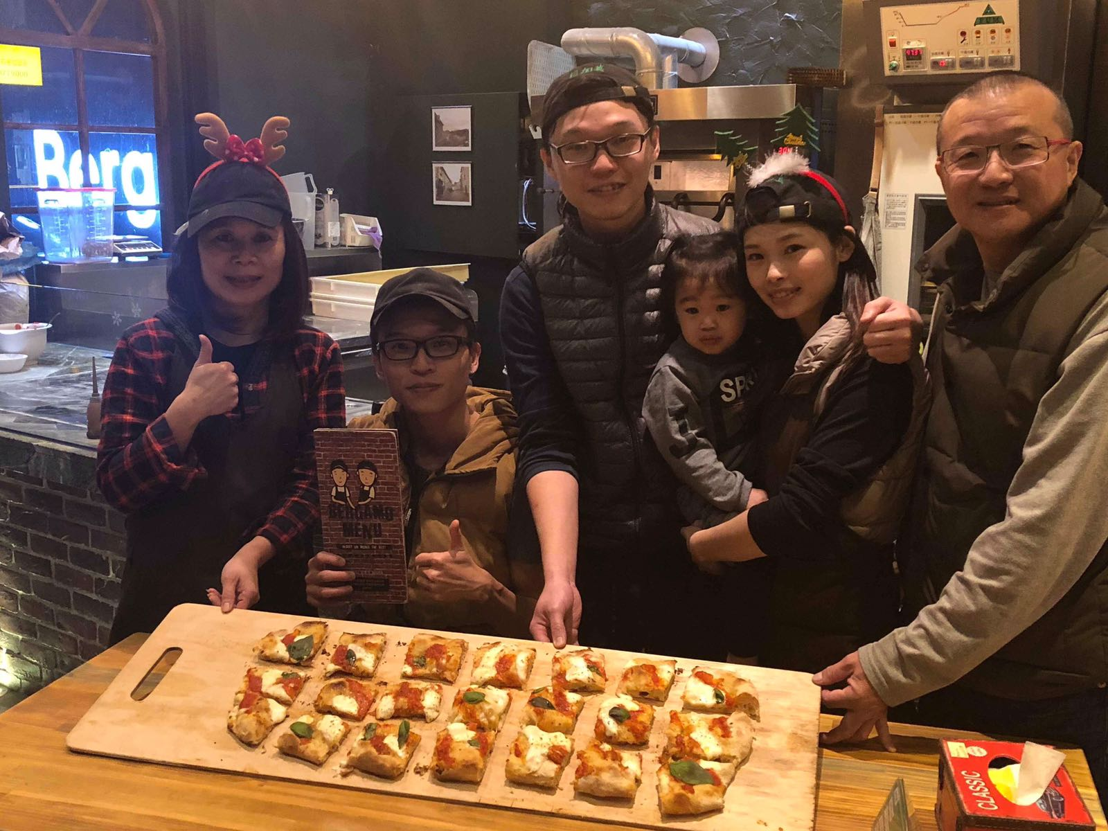 La famiglia di Mister Zhi Rong