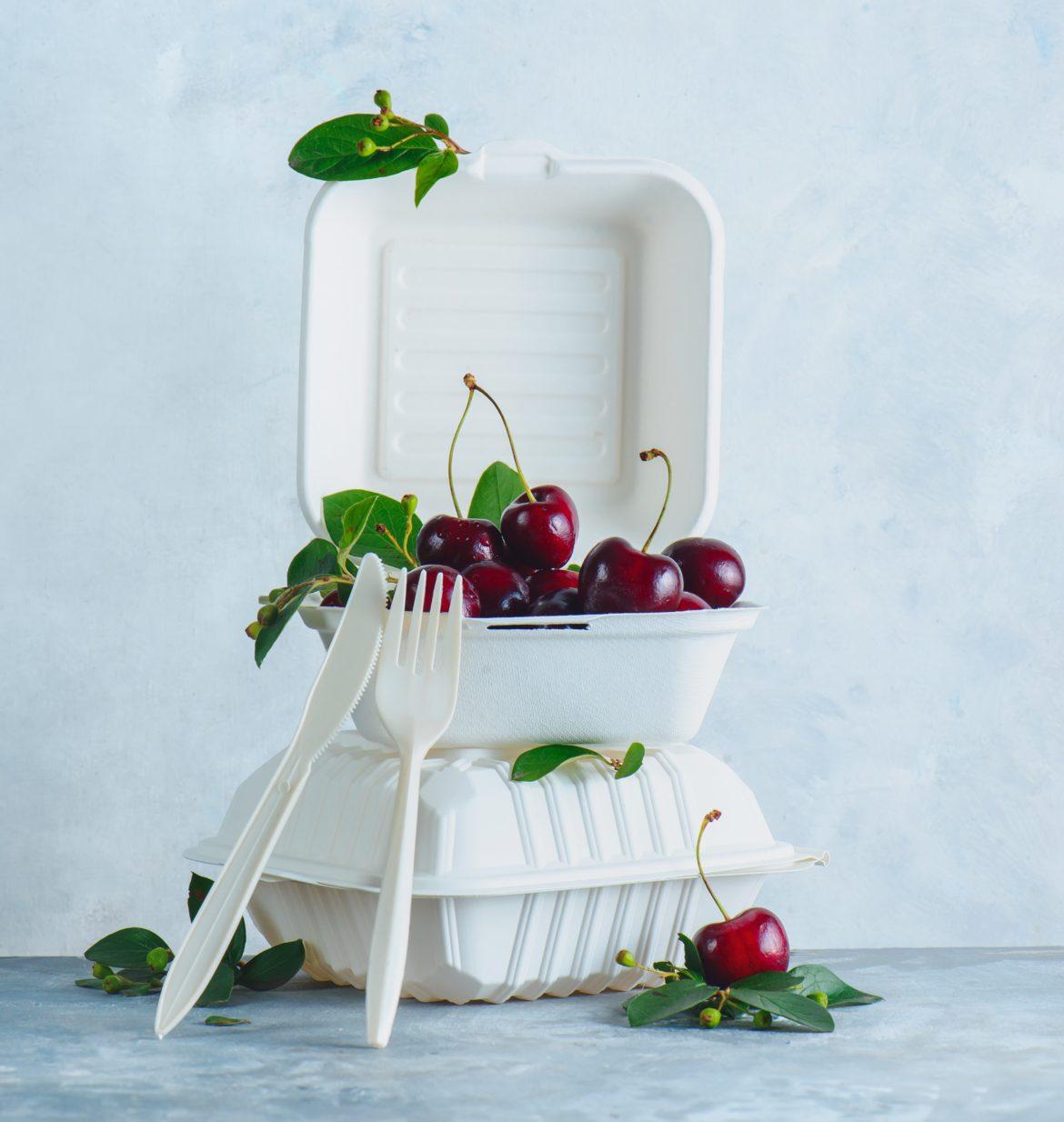 Addio alla plastica usa e getta, stoviglie e confezioni alimentari diventano 'green'
