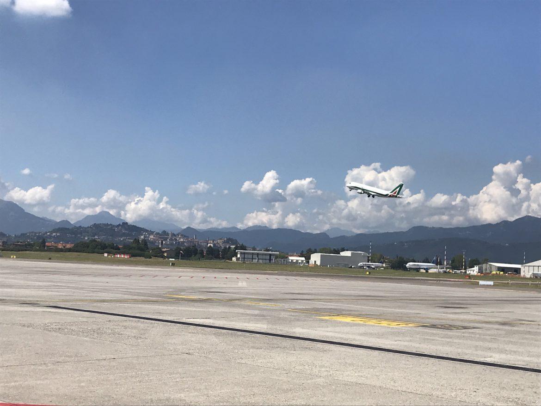 Alitalia torna a volare su Bergamo