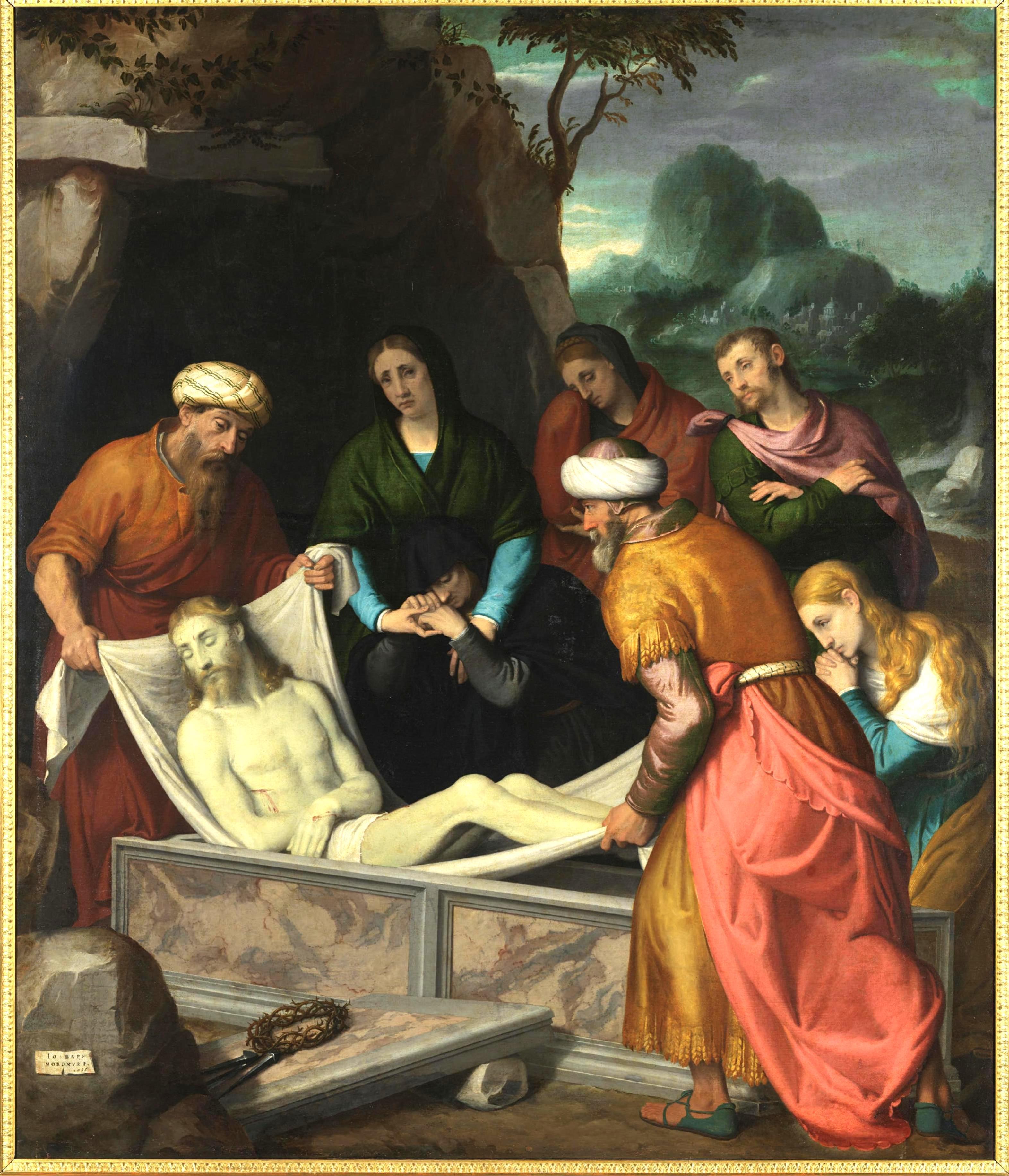 Moroni – La Deposizione di Cristo nel Sepolcro