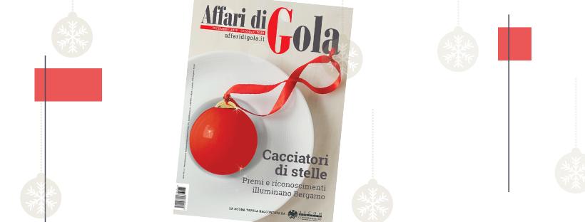 Affari di Gola, in edicola il numero di dicembre
