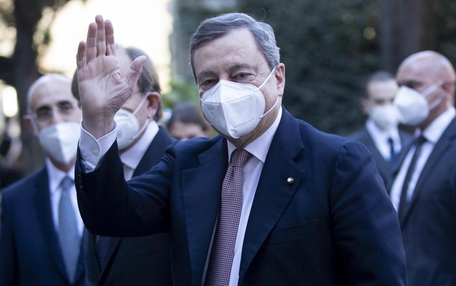 Bergamo, l'omaggio del premier Draghi in occasione della Giornata nazionale per le vittime del Covid